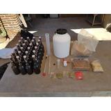 Kit De Iniciación Cerveza Artesanal 10 Y 20 Lts Con Botellas