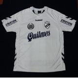 Camiseta Titular Nueva Qac Quilmes Hummel 2017