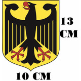 Adesivo Logo Aguia 02 Exercito Alemão Ww2 Ge1 Frete Grátis