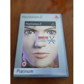 Resident Evil Code Veronica X Platinum Original Europeu Ps2