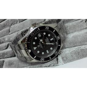 Relógio Submariner Aço + Caixa Super Promoção 5 Cores