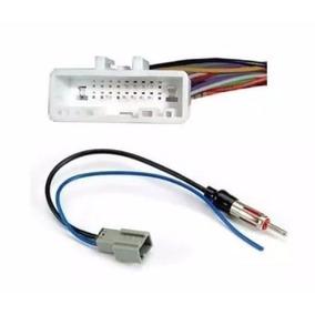 Plug Chicote Conector E Adaptador Antena Cd Dvd Rádio Nissan