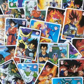 Kit 36 Pacotes De Cartas Dragon Ball Laminada Brilho A168