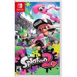 Splatoon 2 Nintendo Switch Nuevo Sellado Msi