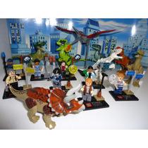 Jurassic World 16 Bonecos Jurassic Park Minifiguras