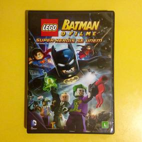 Dvd Lego Batman: O Filme . Super-heróis Se Unem
