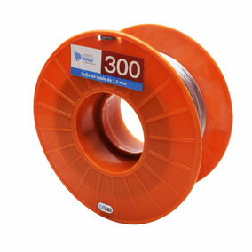 Cable Acero Cerco Electrico Boyero Inoxidable Rollo 300mts