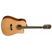 Guitarra Electro Acústica Washburn 12 Cuerdas Fishman Stock!