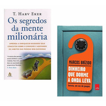 Kit Segredos Mente Milionária + Dinheiro Dorme Onda Leva