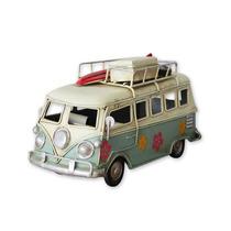 Retro Metal Beach Autobús Clásico Volkswagen T1 Camper Van M