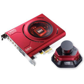 Placa Sonido Creative Sound Blaster Zx 5.1 Pci-e - Fullh4rd