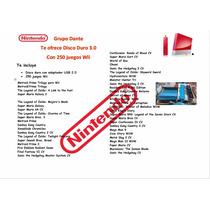 Disco Duro Con 250 Juegos Wii