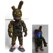 Five Nights At Freddys Figura Springtrap Animatronic Luz Led