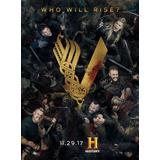 Serie Vikingos Temporada 5 En Dvd - Audio Latino E Ingles