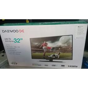 Tv Monitor Led Daewoo 32 Pulgadas Nuevo Hd Usb Tienda Fisica