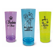 Copo De Led Long Drink 350ml Personalizado - Kit 100 Un
