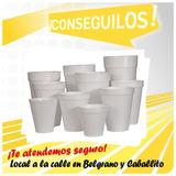 Vasos Térmicos Descartables De Tergopol 180 Cc P/ 1000 Unid.