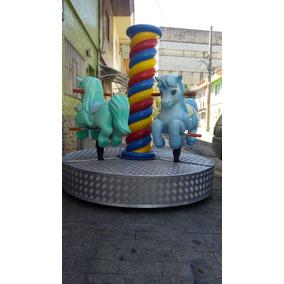 Carrossel Fionda Unicornio Para Parques Ou Buffet Infantil