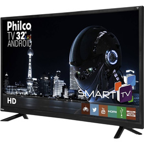 Smart Tv Led Android 32 Philco Hd Conversor Digital Hdmi