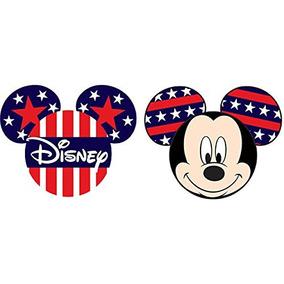 Disney Mickey Mouse Orgullo Topper De La Antena Rojo Azul B