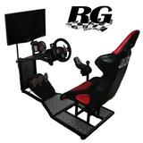 Soporte Simulador Para Volante Logitech G25 G27 G29