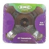 Kit Relação Kmc Xre300 Corrent C/retentores Aço1045 + Brinde