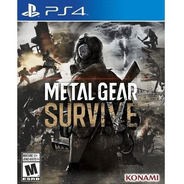 Metal Gear Survive - Ps4 Fisico Nuevo & Sellado