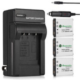 3 X Batería Np-45 Np-45a Para Fujifilm Finepix Xp10 Xp60 J10
