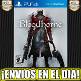 Bloodborne Ps4 Juego Playstation 4 Stock 1°