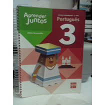 Livro Aprender Juntos Português - 3 Ano Ed 2013