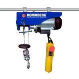 Aparejo Electrico Elevador 400-800kg Kommberg Monofasico