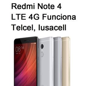 Xiaomi Redmi Note 4 Global 4g Lte Telcel Iusacell 3ram/32rom