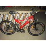 Bicicleta Montañera Especial Cuadro De Aluminio Reforzado