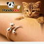 Anillo Gato Ajustable Plata S925 - Compromiso, Enamorados
