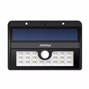 Lámpara Solar 20 Led Impermeable Y Con Sensor De Movimiento