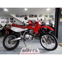 Honda Xr650l Roja 2008