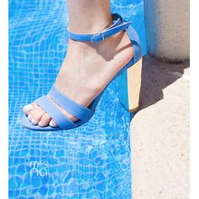 Zaptillas Azul Fiji | Mona Shoes