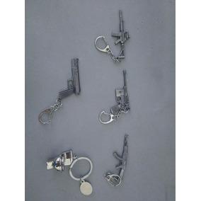 Chaveiro Em Formato De Armas Variadas