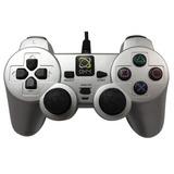 Controle Playstation 2 Oxy Basic Prata
