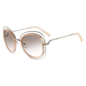 dcf69bcc3cc0e Armações Oculos Chloe Rosa - Óculos De Sol no Mercado Livre Brasil