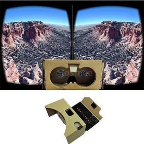 Google Cartón Diy Realidad Virtual 3d Gafas Para Hasta 6 ...