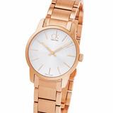 Reloj Calvin Klein K2g23646 100% Acero Rose Suizo Dama 30m W