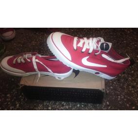 Zapatos Nike Las Punto Rojo