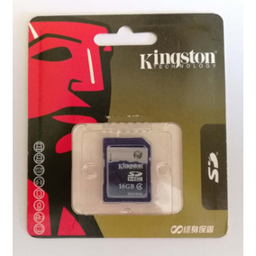 Kingston Sd 16gb Original Blister