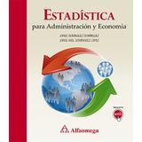 Libro Estadistica Para Administracion Y Economia De Domingue