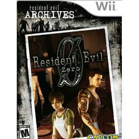 Jogo Resident Evil 0 De Nitendo Wii Original