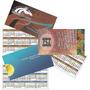 1000 Calendarios Color Tipo Tarjeta Personal Diseño Incluido