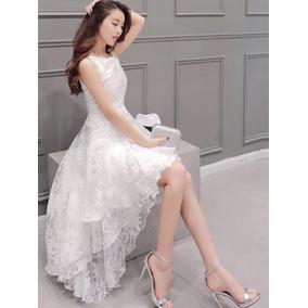 Vestido Longo De Noiva Casamento Civil+ Super Brinde