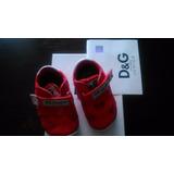 Zapatillas Dolce & Gabbana Bebes Unisex Numero 18 De Italia
