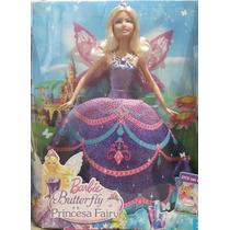 Barbie Butterfly E A Princesa Fairy - Mattel